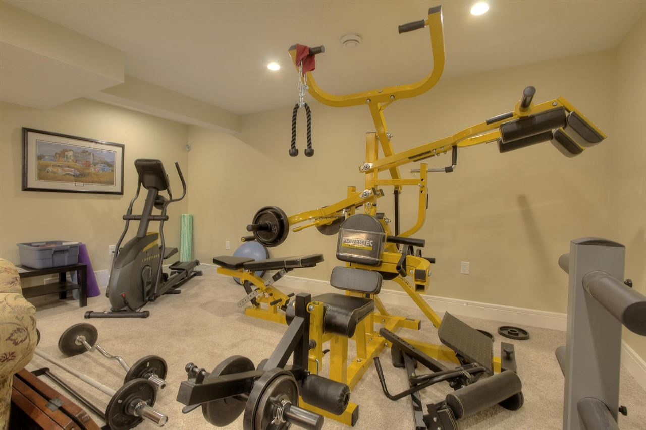 Not everybody can have this much equipment in the basement family room... but you can!