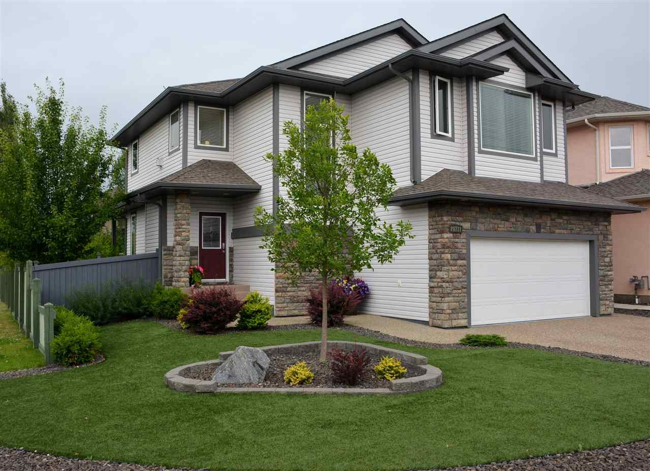 Absolutely gorgeous 2-storey available in vibrant golf community of Meadlowlands Estates! This newly renovated 2142 sqft home is loaded with upgrades and has the feel of a showhome. The stunning open concept main level features an abundance of bright low-e windows & 9 ft ceilings. Kitchen features new granite countertops, upgraded S.S. appliances, maple shaker cabinets and walk-thru pantry. Upstairs boasts a master retreat with gas f/p, 5pc ensuite w/glass shower, granite counters, heated tile and walk-in closet. 2 add?l bedrooms, 4pc bath, laundry room, and huge bonus room complete this level.  The newly finished basement offers a family room, 4th bedroom, 3pc bath & storage/mech.  The double oversized garage has newly epoxied floors and overhead storage.  The breathtaking landscaped exterior includes an aggregate driveway and walkway, covered deck, 2 more maintenance free decks, hardtop gazebo, BBQ gas line, timed irrigation system, artificial turf and a plethora of shrubs and trees.