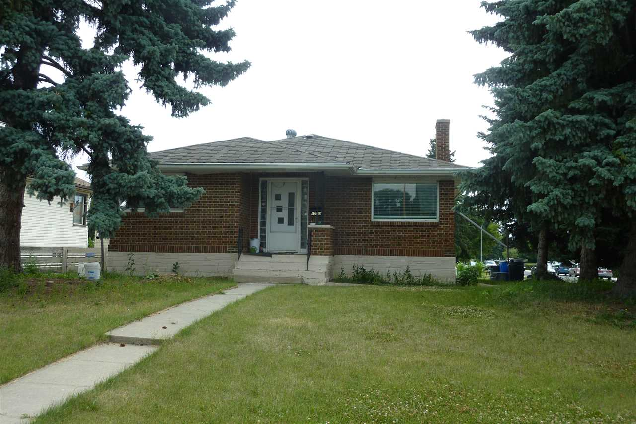 Queen Mary Park. Brick Bungalow. Solid Investment, Solid Ownership located in an  Upcoming  Central West Neighborhood. 5 Minutes to Downtown Core. 1076 Sq.Ft . 2 + 1 Bdrm. @ Bath. Coved Ceilings,Parquet Flooring,Formal Dining Area.Separate Entrance to Lower Floor Living Space. Fully Developed  Common Laundry Area between Living Spaces. Brick Double Detached Garage.Solid Infrastructure Package, 100 Amp. Service  Corner Lot of Endless Possibilities 8758 sq.ft. Same Parcel Size 1 Block away under Current Redevelopment  as a 5 Unit Townhome Project. 10923 - 115 St .