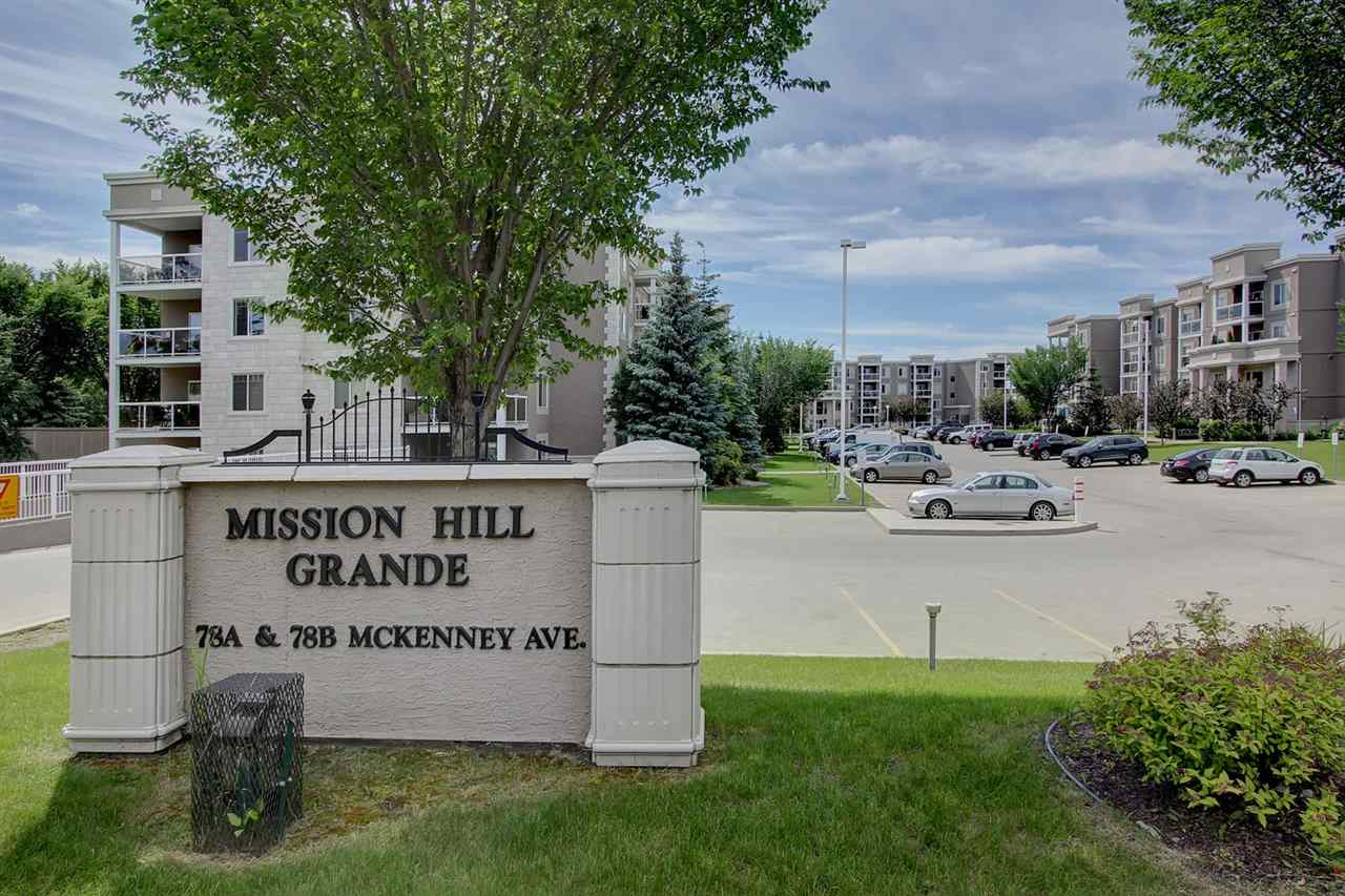 MISSION HILL GRANDE is an attractive two building complex. The landscaping is well maintained and is included in the condo fees.