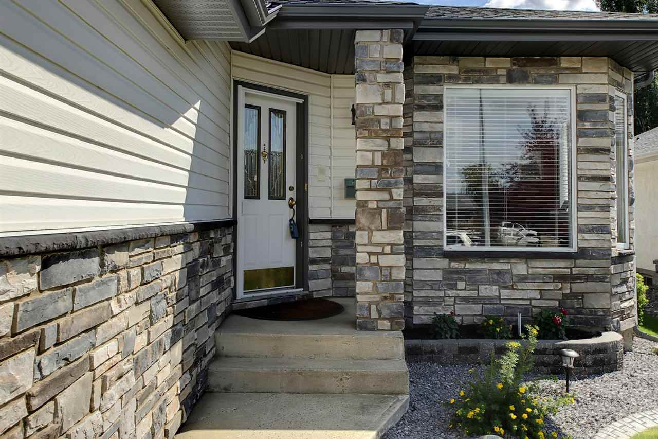 The new stone facing on the home has made a nice improvement and adds a welcome touch.