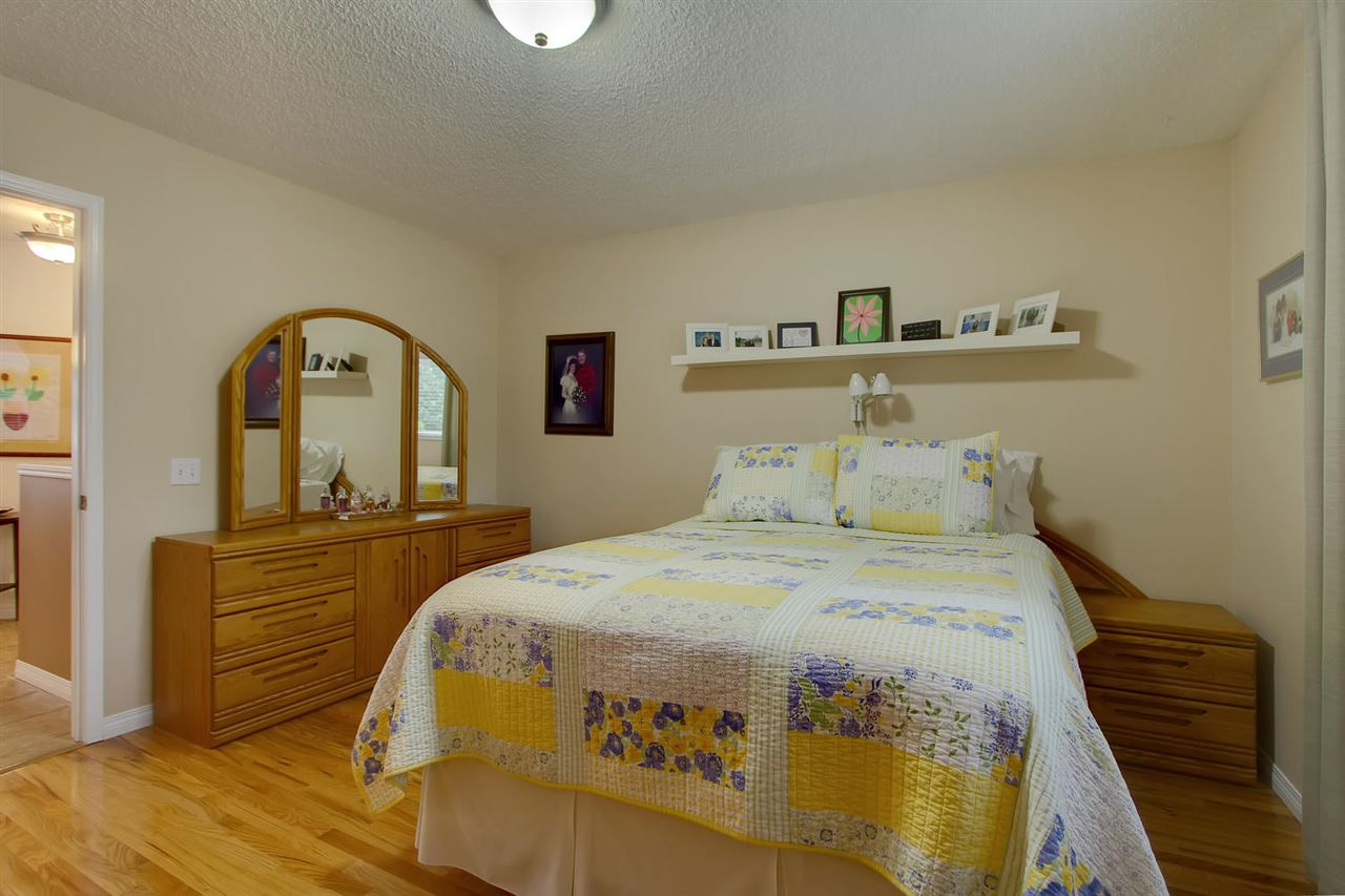 The Master bedroom space is generous and includes a walk in closet and master en suite bathroom.