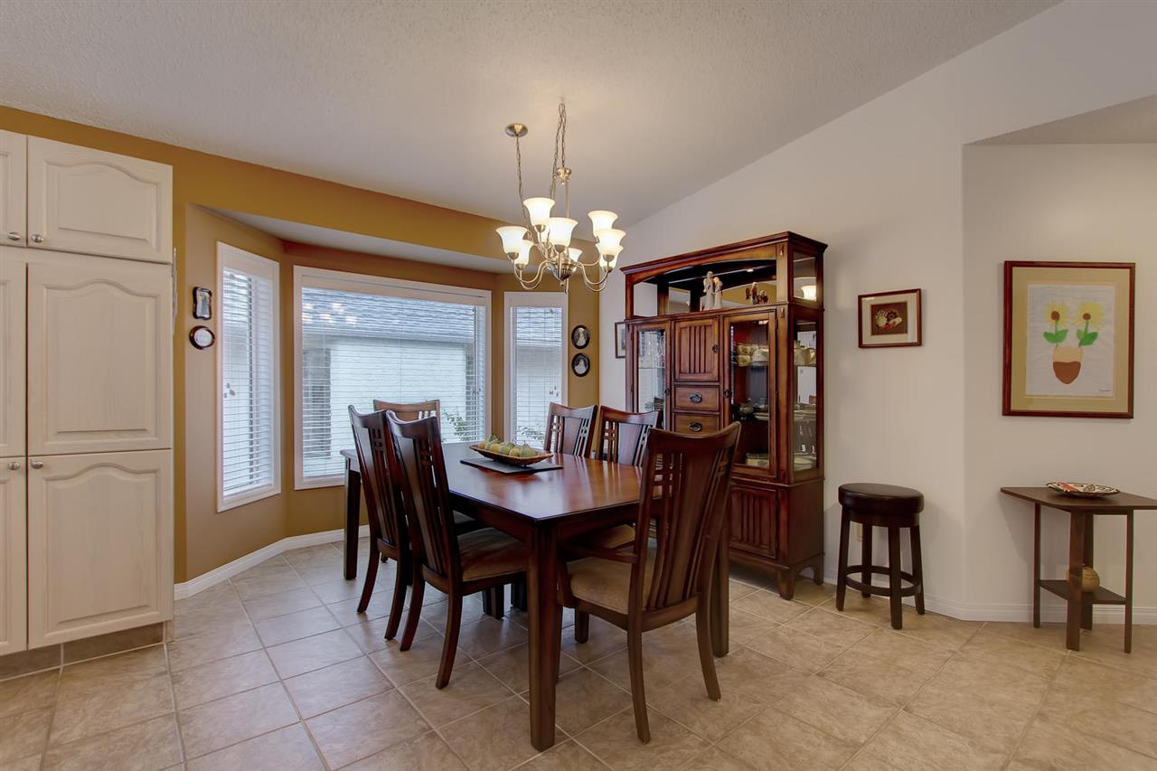 Imagine large family occasions or card night with your friends in this space. There is plenty of space for a large dining room table plus china cabinet.