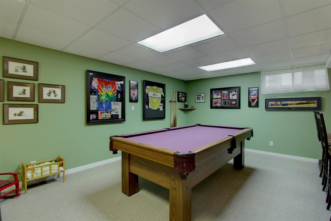 Call over the family or your friends and have a pool competition. Lucky you can practice every day and then perhaps suggest a small wager... This table is staying with the home.