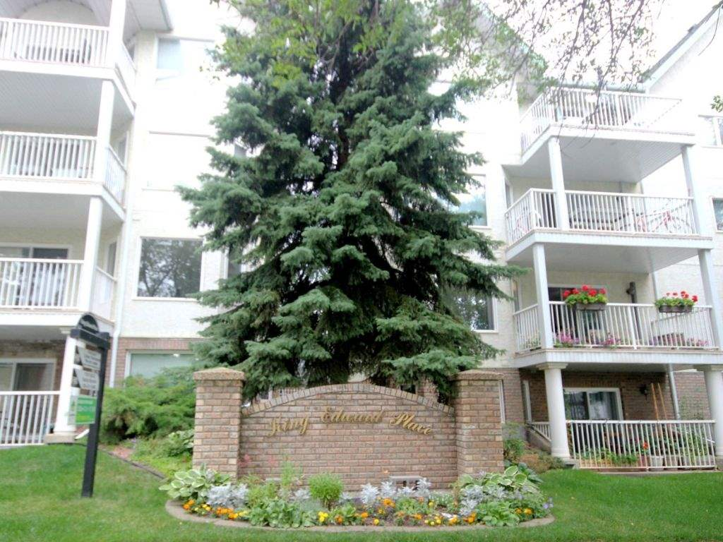 One bedroom condo for sale off of the iconic Whyte Avenue! Wide open concept for all the activities! Partially covered patio to stay dry while enjoying those rainy nights! Covered/powered parking stall, in suite laundry, spacious walk in closet with shelving for all of your things! One block from a bus route and minutes drive to downtown. Adult only building.