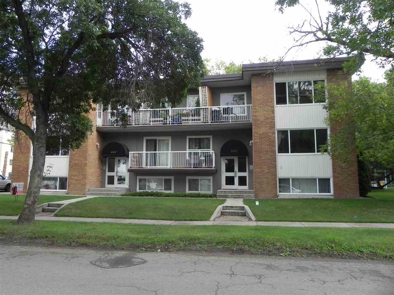 Close to the entertainment and restaurants on Whyte Ave, downtown, river valley, shopping, transportation... This single bedroom condo is located for the active home owner that's tough to beat. On the second floor corner of the building it has windows on three sides and is away from the street. Upgraded and updated the tile and hardwood floors have been immaculately maintained as with the whole home. The large living room faces west, the bedroom on the east side of the unit ensures ensures a quiet sanctuary. Plenty of in suite storage. This feels more like a community than a building, a home where all the owners know each other. The ideal home for the active, that want a community feeling, close to everything.