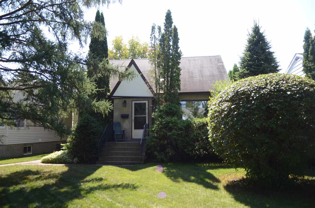 Nicely located handyman special or redevelopment lot in King Edward Park. This 46x130 lot is located on a quiet street with no through road to 75th. This semi bungalow has 3 bedrooms and 2 bathrooms with solid overall potential. South facing backyard with large double garage.