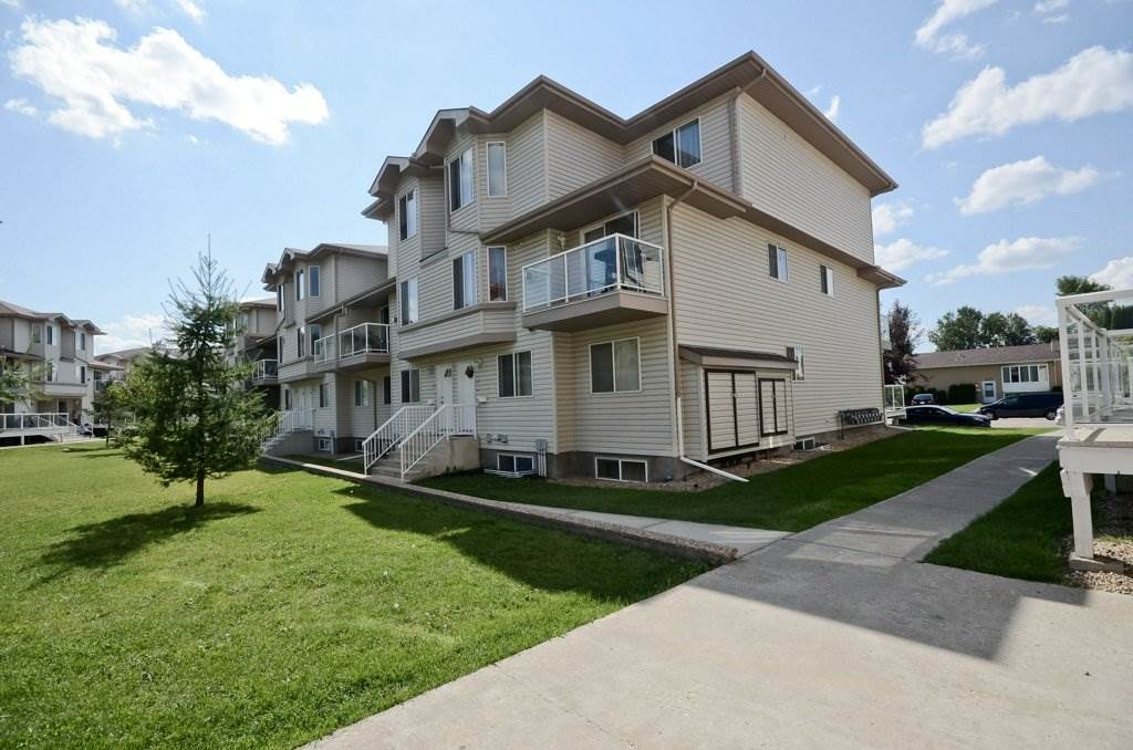 This 2-bedroom corner unit in Paradise Village sets itself apart with its fantastic view of the inside courtyard green space and upgraded newer stainless-steel appliances.  Enjoy the view from the balcony as you BBQ on those long summer days.  This open concept layout features beautiful laminate and ceramic tile flooring, a spacious kitchen with new fridge and stove purchased in August 2017, and a bright living room with gas fireplace.  The kitchen offers plenty of natural light and lots of cupboard and counter space. The upstairs has two spacious bedrooms and the master bedroom boasts his and her closets.  Excellent location, close to schools, shopping, and public transportation.  The beautiful centre courtyard has a large gazebo for entertaining guests.