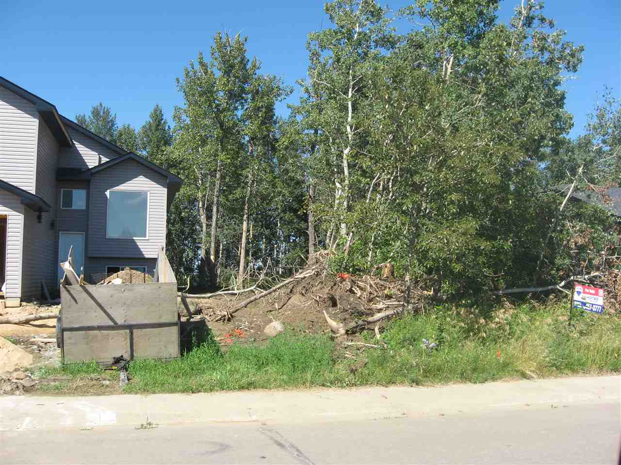 Excellent building lot fully serviced in the growing Town of Redwater