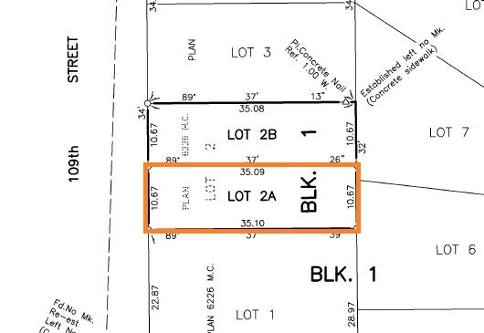 Opportunity Rocks! Great building location in highly desirable Pleasantview. Terrific location: a short walk to Southgate Mall & LRT ? you are minutes away from UofA & Downtown. Lot measures roughly 35?X 115?. Plan is available for building a 2,062 sqft 2 storey home with front attached double garage. LOT next door is also available for sale. Great location to build your dream home here!