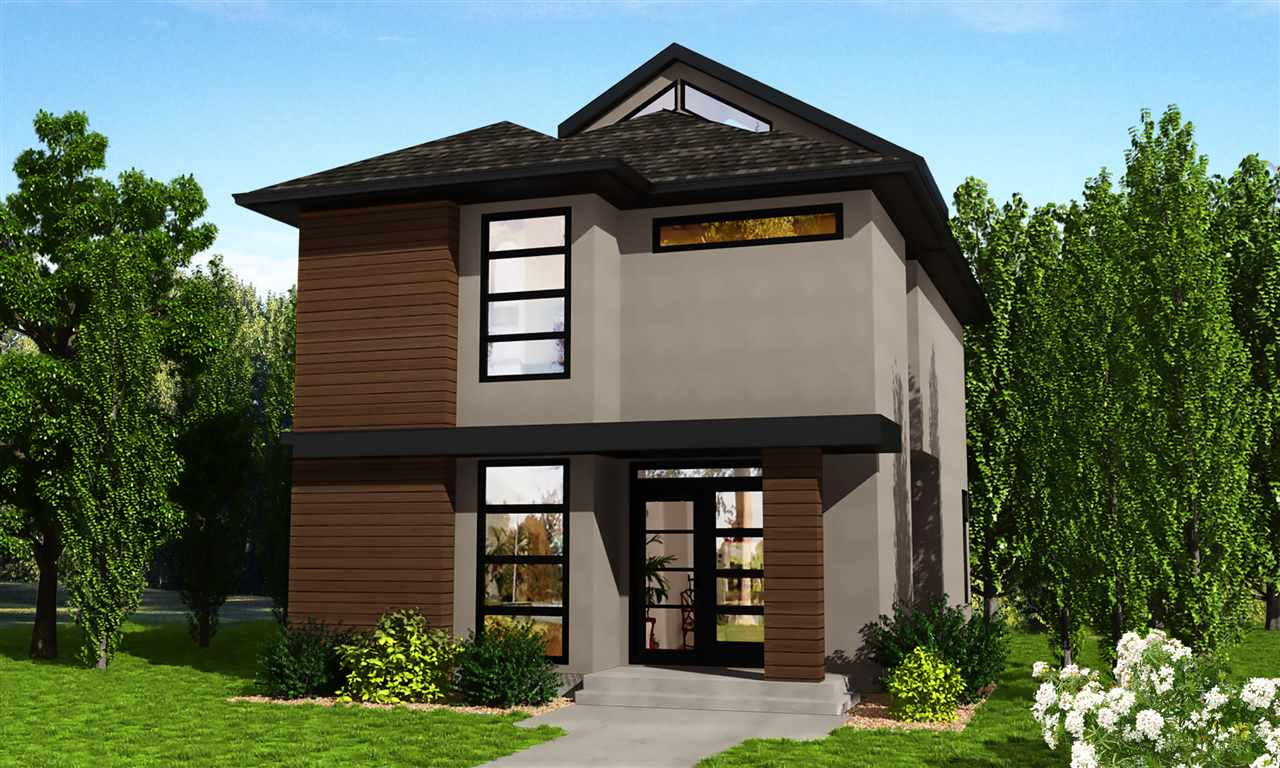 Welcome to this brand new fully finished stunning custom green certified home in highly sought after Capilano. You will love the roof top patio with its amazing RIVER VALLEY VIEW! This brand new 2.5 stry home has it all, great curb appeal, a wonderful floor plan designed for everyday living and elegant quality finishes throughout all just steps from the river valley. The main flr features a modern kit, SS appliances, an intimate DR that leads to a large private deck and the ample sized LR with gas fireplace. Also on this level is the den & 2 pce bath. Upstairs you find 2 bdrms, a 4 pce bath and conveniently located laundry. The mstr is private w/a walk-in closet & spa-inspired 5 pce ensuite. On the top level you have a library/flex space that leads to your very private deck with amazing views of the river valley and downtown! The LL level has another family room and a tunnel connecting the double garage to the house. Very unique! Only minutes to downtown make this the perfect family home! Act fast!