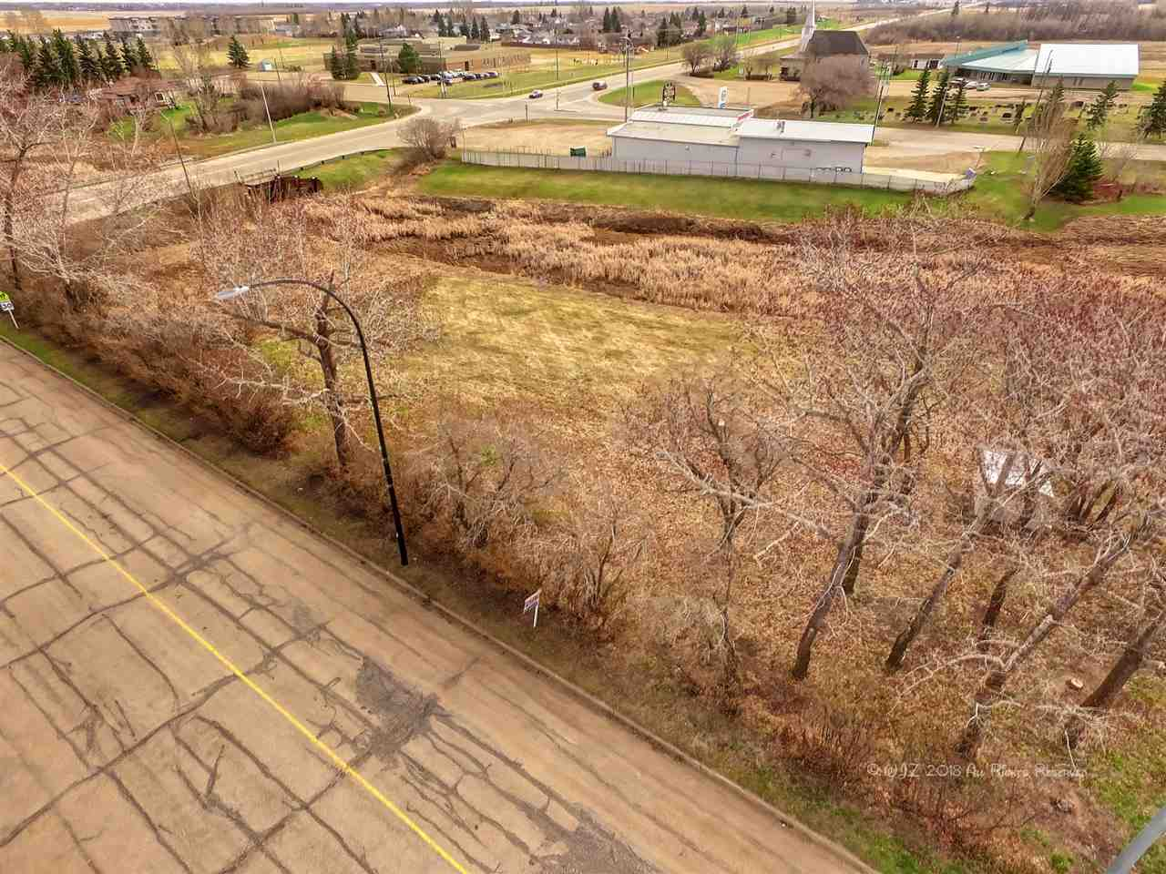 Located in the downtown core of Bruderheim and backing onto green space are 2 residential lots within walking distance to all amenities.