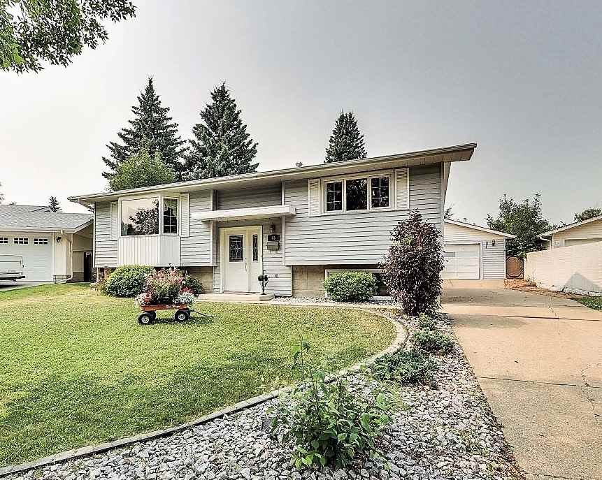 Visit REALTOR® website for additional information. Welcome to 43 Linwood Crescent, St. Albert! Built in 1972 on a gorgeous extra-large inside corner lot located in the beautiful & mature Lacombe Park neighborhood. This 1160 sqft bi-level home with 2+2 bedrooms and 2 full baths could be all yours! Plenty of parking & oversized double detached garage.