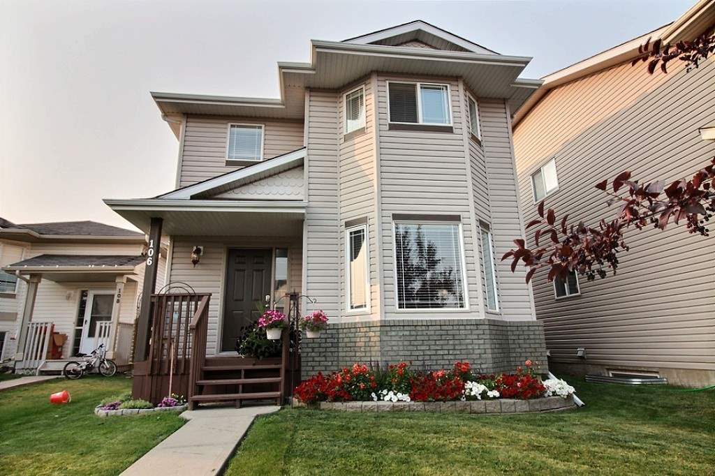 Well maintained 2 storey home with many upgrades. Located in the desirable neighbourhood of Brookview. This home has a large kitchen with plenty of cabinet space and countertops. On the main floor is also the living room, dining room and a half bathroom. On the second floor is the master bedroom complete with a walk-in closet and ensuite. There are 2 other bedrooms and a full bathroom. Upgrades in the home include cork flooring, new light fixtures, A/C unit and upgraded bathrooms. The basement is unfinished so you can finish it to fit your needs. Enjoy summer outside in the beautifully manicured yard or sit back and relax on the deck. The backyard is fully fenced and also has several fruit trees. In front of the house you'll see true pride of ownership with the beautiful and colorful flower beds. This home is in a great location being within walking distance to the hospital, amenities and close to the walking trail system. Easy access to hwy 16A and 16. Don't miss out on this amazing opportunity!