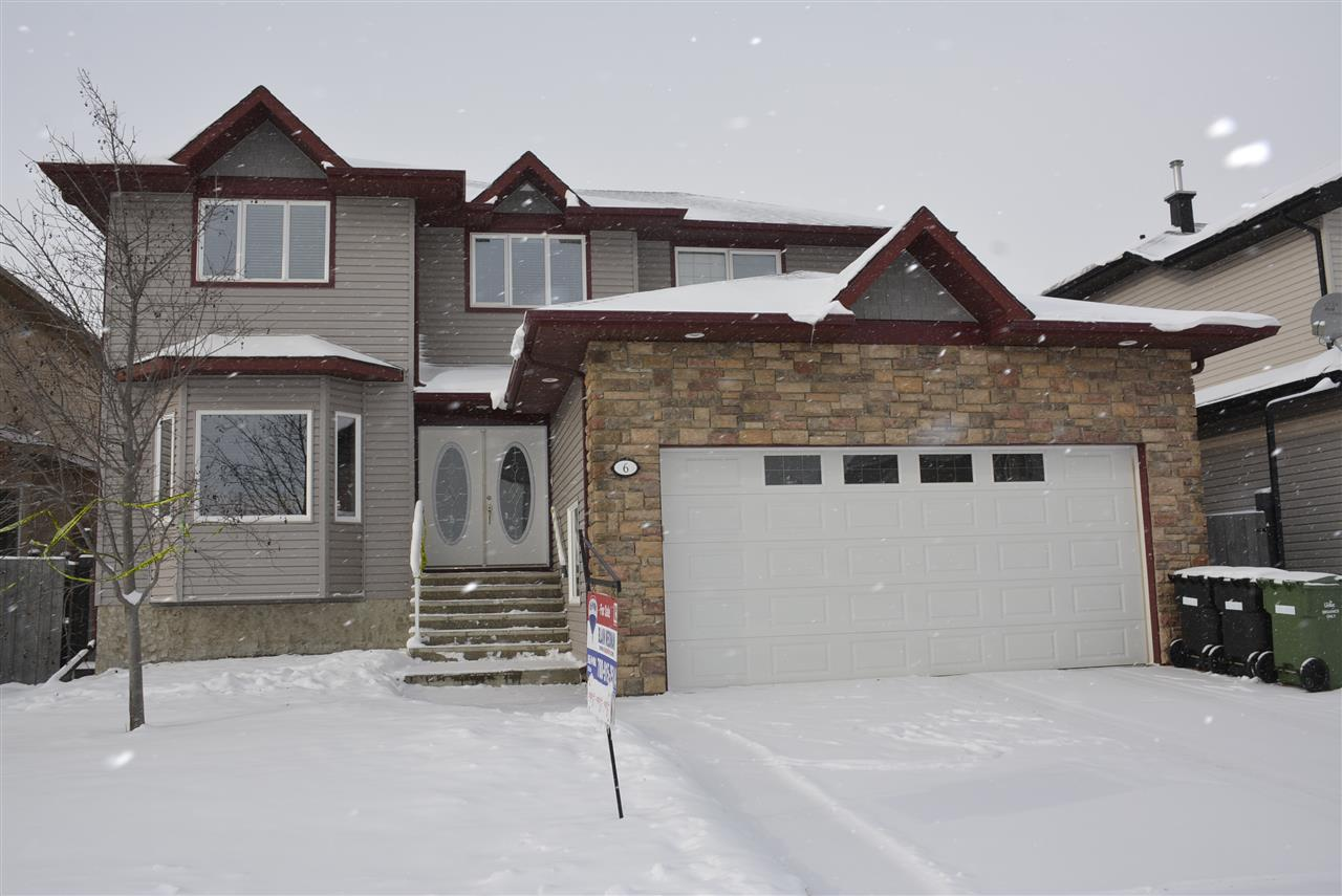 Great street appeal! Enjoy the wide staircase which leads to a double door entry. This fantastic Corona built home offers a formal living room with bay window, a dining room plus a family room with cozy fireplace. Kitchen features ss appliances plus an adjoining bayed dinette with patio door access leading to a 19' x 28' deck and overlooking the large fenced/landscaped back yard. There is a blend of hardwood, tile and carpet throughout. This home has a main floor step saver laundry and a convenient 2 piece bathroom. Welcome to the upper level which is home to FOUR good sized bedrooms; master boasting a 4 piece en suite & walk through closet. The main 4 piece bathroom completes this level. Basement is unspoiled with 9 foot ceilings ready for your own planning and development. Close to brand new K-9 public school.
