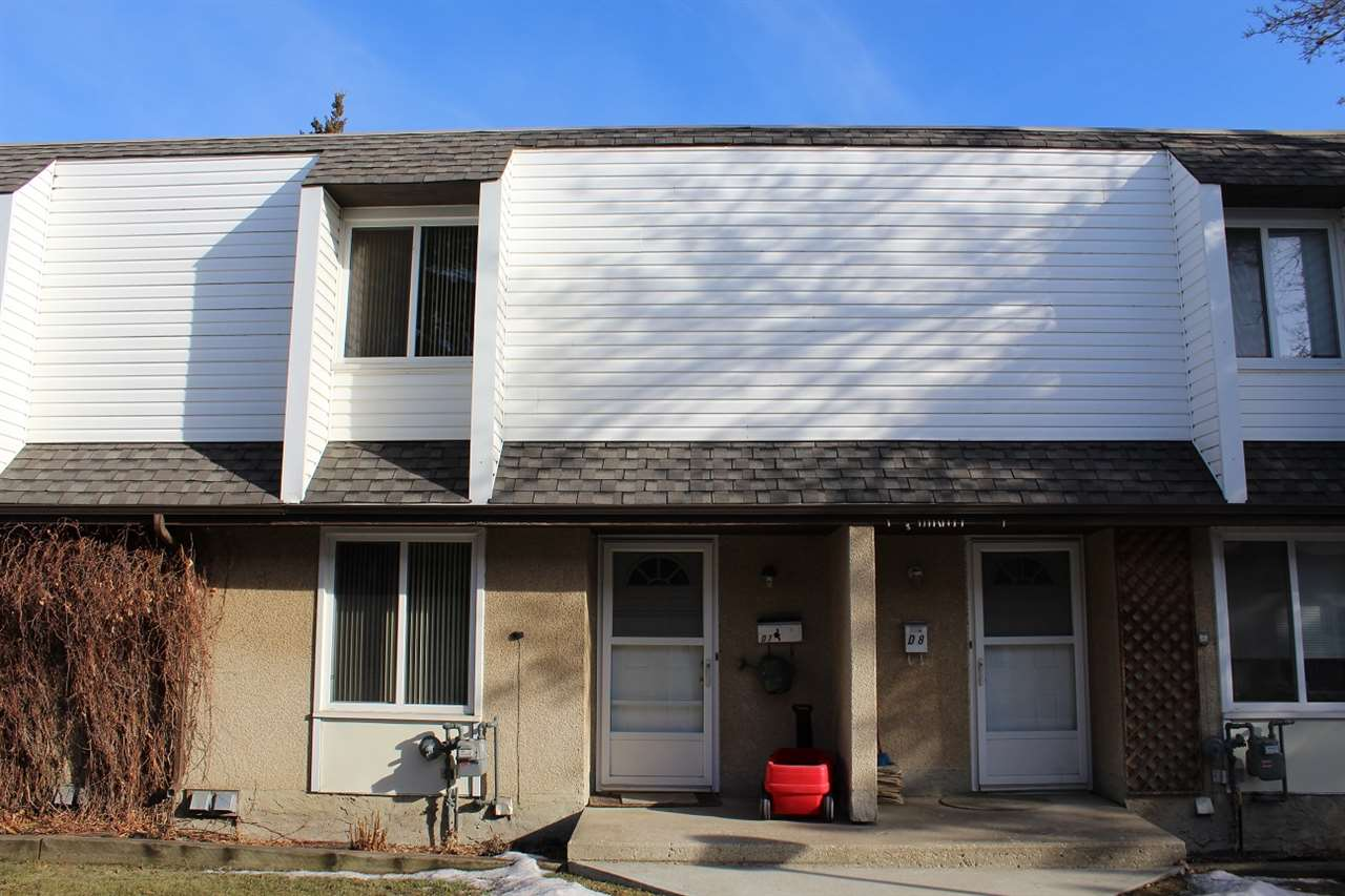 BEST VALUE, 3 bedroom condo townhome available in SOUTH Edmonton, Duggan Community. Completely Renovated. Flooring, Kitchen, Lino, Appliances, Furnace, Hot water Tank, Closet Doors, Baseboards and paint.  Pride of ownership shows. Basement fully finished. Close to LRT, transit, School, Shopping and University. STOP PAYING RENT AND START BUILDING EQUITY. It Won't stay for long.