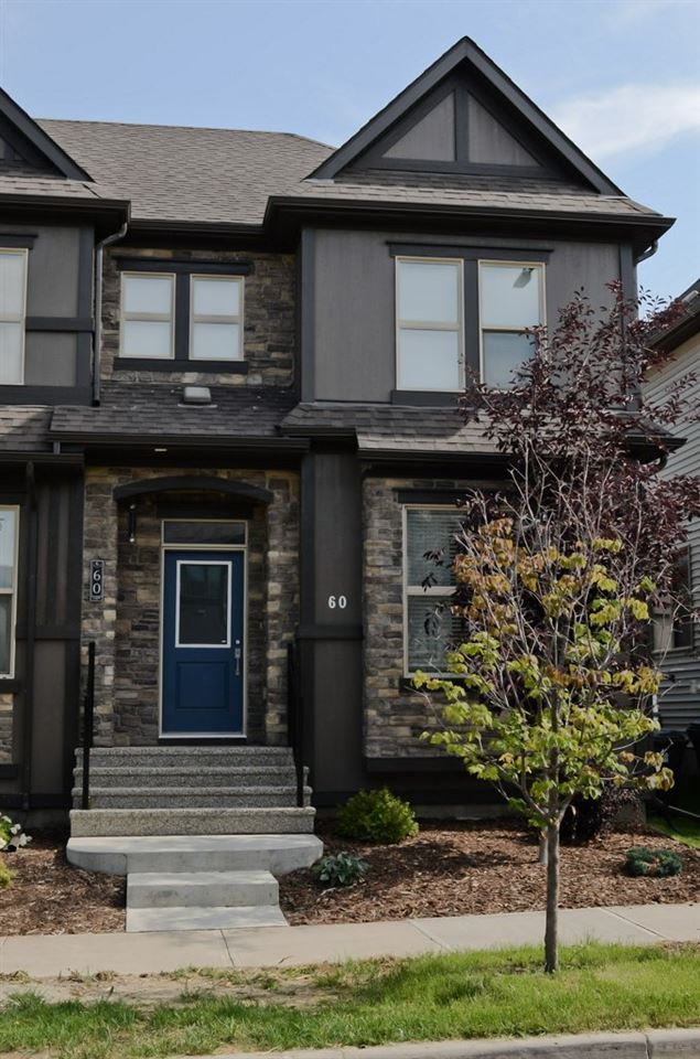 BE AMAZED by this 1307 sqft Half Duplex in the community of GREENBURY in Spruce Grove. Built in 2014, this 3 Bed, 3 Bath home is STUNNING. Walking into this home you are greeted by 9 foot ceilings and open concept Living, Dining & Kitchen combination perfect for ease of entertaining. Beautiful hardwood, Dark High cabinets, Granite Counters, Designer Backsplash, Stainless Steel Appliances & Eating Bar complete this space. Upstairs you will find the master suite with ample sozed walk in closet and 4pc. ensuite with tub & shower. The 2nd and 3rd bedrooms are a nice size and full 4pc. bath makes this perfect for that growing family. Out the back door you will enjoy a wood deck with large fully fenced perfect for letting the kids play. Having a double detached garage will be great for keeping the snow off your vehicles in the winter.