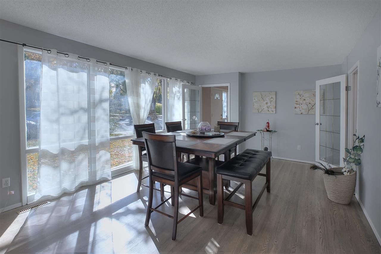 Another view of the formal living room that has become a special dining room.