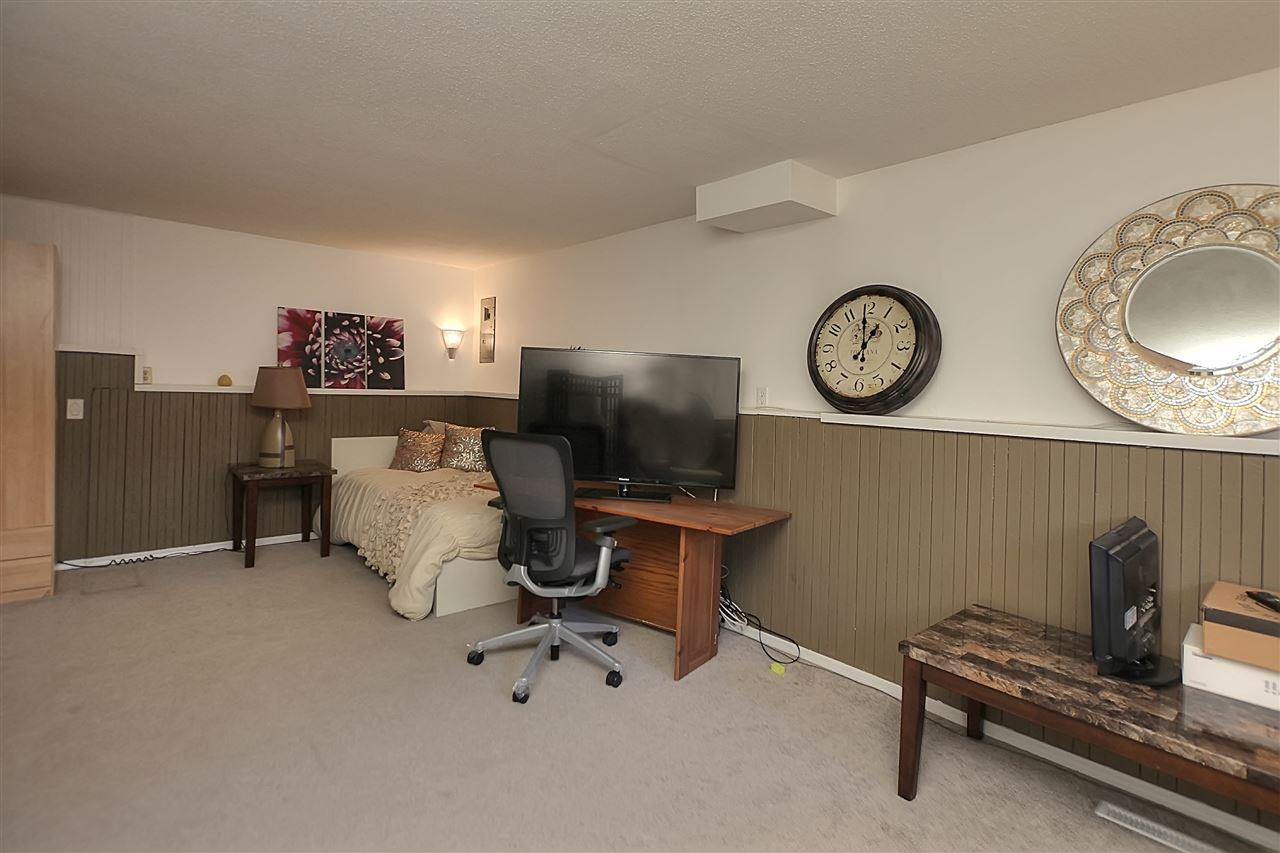 Another view of the lower family room or rec room or play room or teen retreat.