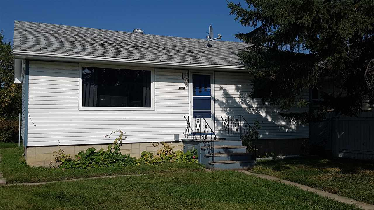 This charming 2 bdrm bungalow has been extensively renovated including new flooring, windows, furnace, fence and kitchen. It sits on a large lot with a huge yard and plenty of room for a garage.  The basement is spacious and open and ready to be finished to your tastes. Perfect starter home or income property.  Located in the growing town of Tofield close to hospital, schools, golf, 45 min from the international airport and an easy commute to Edmonton, Sherwood Park or Camrose