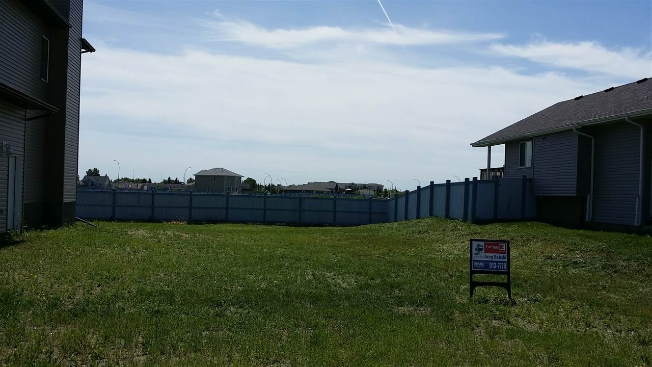 5482 SQ.FT. (47.70 X 114.80) BIG VACANT LOT READY TO BUILD YOUR DREAM HOME.SUNNY SOUTH FACING BACK YARD WILL PROVIDE PLENTY OF NATURAL LIGHT INTO YOUR NEW HOME.IDEAL QUIET LOCATION IN THIS GREAT COMMUNITY OF MORINVILLE WITH MANY OF TRENDY BEAUTIFUL HOMES.ONLY 15 MINUTES FROM ST.ALBERT.NO TIME FRAME TO BUILD AND CHOOSE YOUR BUILDER.