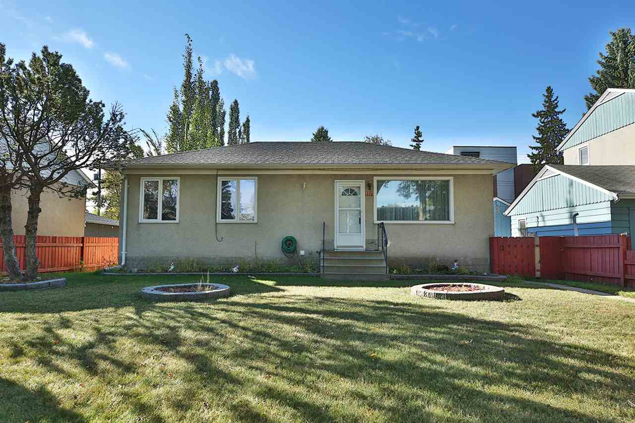 Excellent Idylwylde location for this fixer upper or start over and build your dream home on this 49.87' x 130.25' lot. The home has been well maintained with 3 bedrooms up, living room and kitchen plus a 4 pce bath. The basement is partially finished with a recreation room and den plus laundry/storage area. The double detached garage is oversize and heated. Fully fenced, all appliances and window coverings stay. Walking distance to Bonnie Doon Mall, transit and Bonnie Doon Pool.