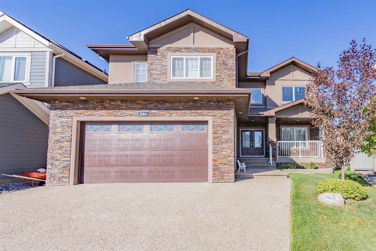 In the prestigious community of Callaghan, this custom built 2 storey home has everything you desire. The front French doors open to a spectacular iron spindle staircase with its grand high-ceiling foyer, huge family rm, and dining rm in harmony with the living rm, and high-end kitchen. Kitchen is upgraded w/ plenty of custom cupboards, ss appliances, granite counters, centre island, and a built in buffet. Just off the kitchen is the deck w/ pergola, the perfect place for BBQing and gathering, w/ space for kids to run and play. Den/bed is on the main w/ a 4pc bath just off to the side. Up the spiral staircase you will find a large bonus rm, 4 beds, w/ 3 ensuites, and laundry. Luxurious master fit for a king bed, with WIC, & 5pc ensuite. Basement is unique it has 2 connecting sides, w/ separate entrance taking you into more living space, roughed-in for future kitchen, 2 bed, 1 bath, and plenty of storage. Down the stairs is a large theater room, bar, and 2pce bath. Don't miss out on this exquisite house!