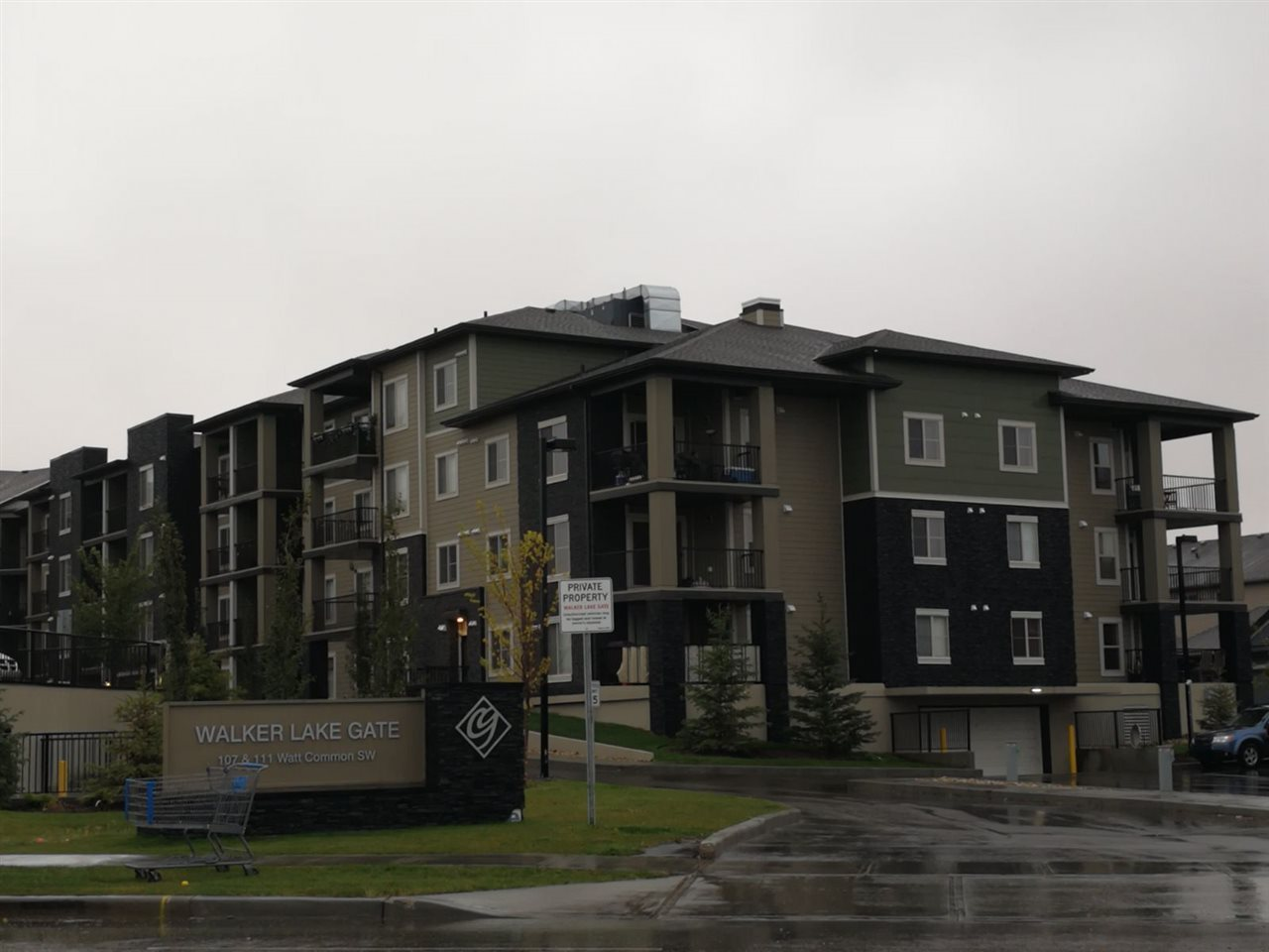 JUST LIKE NEW...This 2 bedroom+ den  2 bathroom 812sq ft condo has been meticulously cared for by the original owners & it's fully upgraded...beautiful GRANITE countertops, real wood cabinet, modern light fixtures,and high end appliance package..! Located at 111 Watt Common SW Edmonton, right next to the Harvest Pointe Shopping Center, which feature tenants like Walmart, Petro-Canada, Sobeys, RBC and Starbucks, as well as several other restaurants and retailers. Harvest Pointe Shopping Centre also offers a number of banking options, medical and professional services. Anthony Henday Drive, Hyw 2, 50th Street, 91st Street and Ellerslie Road are all nearby which makes getting around Edmonton and to surrounding areas quick and easy. , This 3rd floor level suite offers a unique covered patio , perfect for relaxing & BBQ. Great for Investment and first time home buyers. The building is fully secured with fob system and cameras. Includes 2 underground titled parking stall.