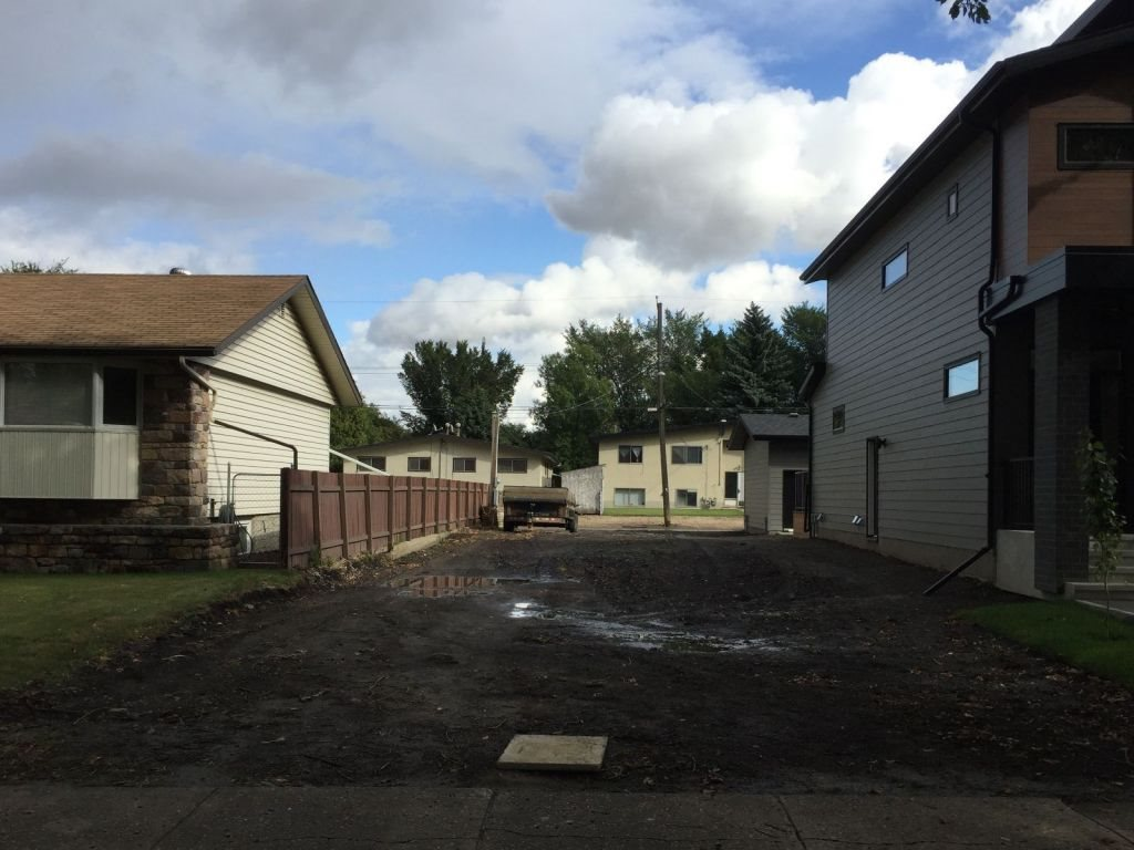 30 foot wide by 125 foot deep, 348.34 square meter  Lot For Sale or Build to Suit with Homes By Anthony Developments in Forest Heights. This RF3 lot is serviced, cleared, ready to build on. Enjoy Tree lined streets just minutes to downtown, short walk or bike to Edmonton' s River Valley Trails.