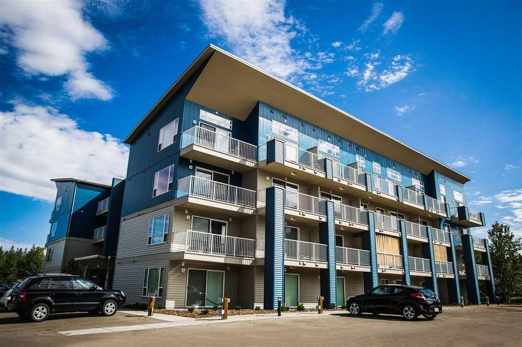 Move in Today! Brand New - Full Size Stainless Steel Appliances - In-Suite Laundry - Modern design - Large Balcony - THE NEST in The Heart of Spruce Grove. Enjoy the peace and quiet of Spruce Grove - a thriving progressive community just 8 minutes west of Edmonton. Your new home is moments from all the restaurants and shopping of Spruce Grove, schools walking distance and also Heritage Grove Park is adjacent! Amenities include fitness center, guest suite, owners lounge and landscaped gazebo area. Most pets are welcome. Mortgage payment estimate substantially less than rent, terms and conditions apply. Option to purchase with no down payment. Visit Realtor website for more information.