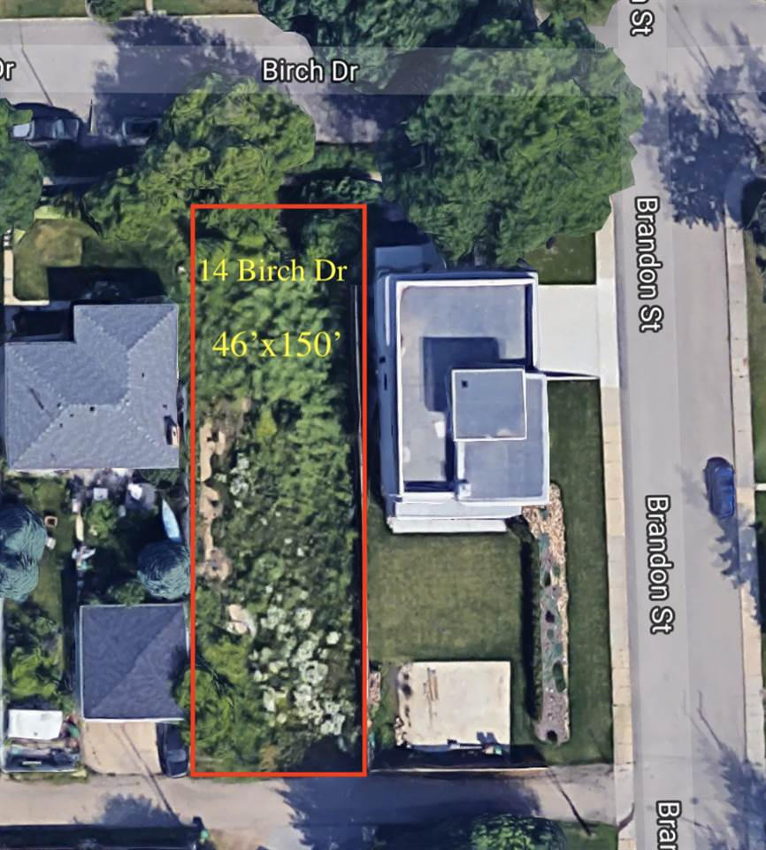 Build your dream home on one of St. Albert's sought after street's.  Many homes currently gracing this drive are valued for the location they sit on. With a lot dimension of 46'x150',  this specific lot allows various house designs.