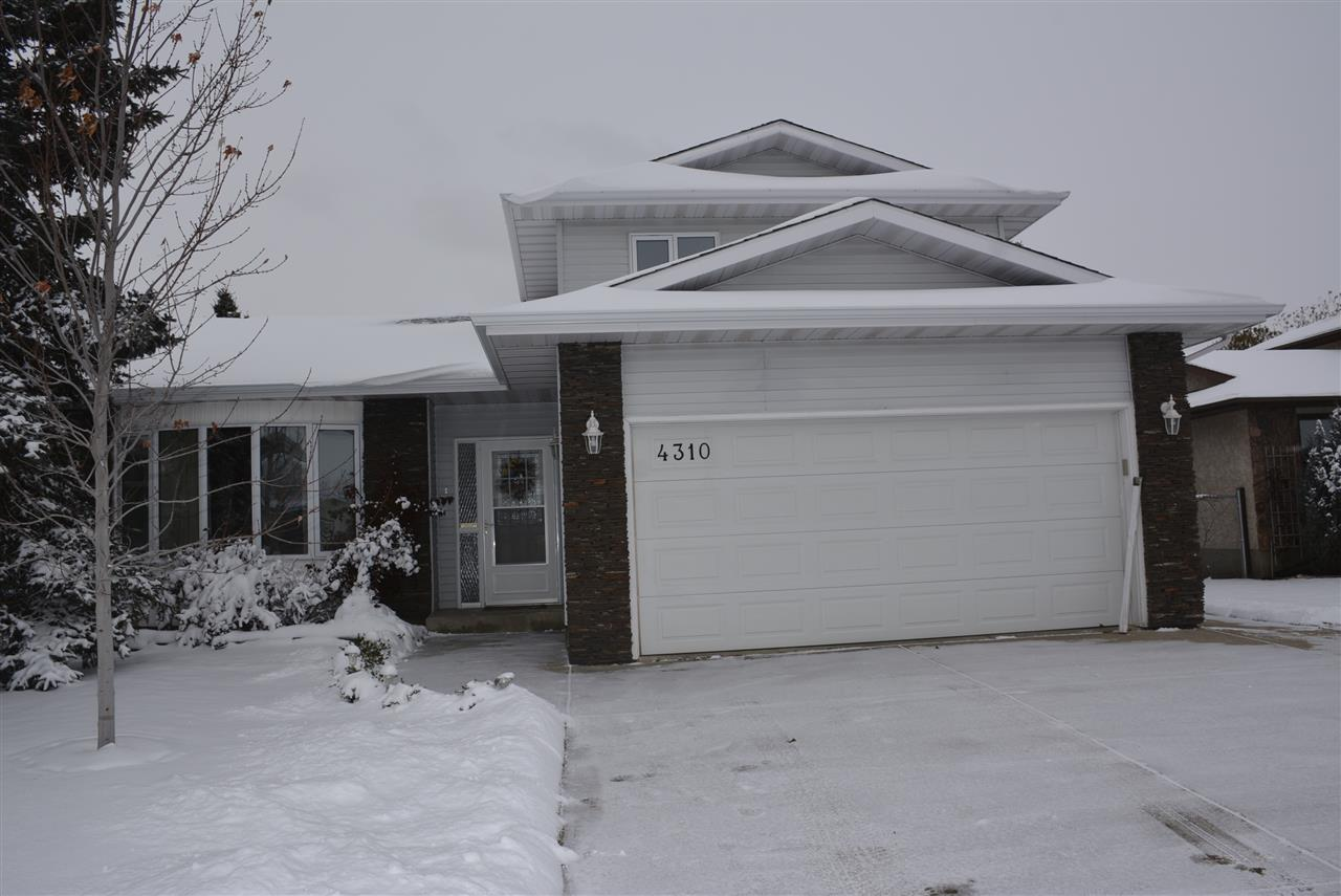 Enjoy the convenience of living close to Leduc's finest recreation center! This home is move in ready! Enjoy energy saving, triple pane windows, 2 furnaces, newer shingles, eaves troughs, screen doors, double garden doors & renovated bathrooms. Lots of fresh paint! Back entry offers mn flr laundry, 2 pc bath and garage access. Gleaming hardwood flooring in the formal living/dining room. Mn floor family room with double garden doors leading to deck.  Oak kitchen boasts built in oven, countertop stove, new counter tops & ss dishwasher.  Upstairs features double French doors leading to a large bay windowed master bedroom with recently renovated 3 piece ensuite, walk in closet & new carpet & paint. An extra large bedroom with 2 windows & another 4 piece bath completes this level. The basement offers a rec room with new carpet, den, 3 pc bath plus bedroom with a walk in closet. Lots of storage space. Fenced/landscaped. Quick possession!
