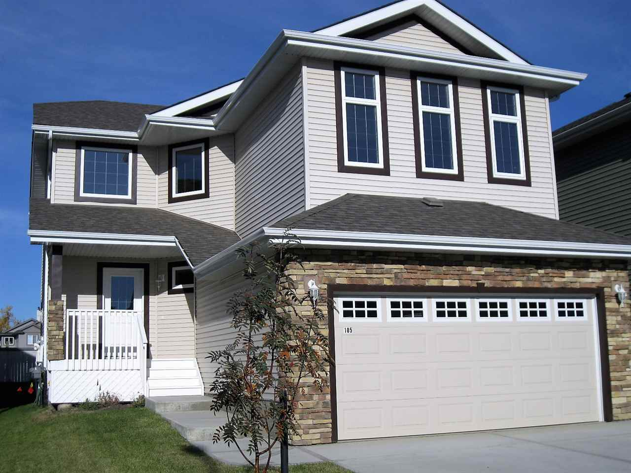 NEVER LIVED IN!!! Will you know quality when you see/feel it? Of course you will!  This 2015 home is NEW NEW NEW! NEW!Stainless Steel appliances in the Kitchen! NEW Washer & Dryer on the main floor!  NEW Built-in-Vac! Stunning NEW hardwood, tile and Carpet!  2,136sq/ft is SPACIOUS SPACIOUS SPACIOUS!  SPACIOUS Front entry open to the 2nd floor!  SPACIOUS formal Dining/Flex room!  SPACIOUS kitchen/Living room! SPACIOUS 12x18' Back deck! SPACIOUS upper bonus room! SPACIOUS kids rooms!  SPACIOUS Master Bedroom with SPACIOUS Walk-in-closet!  SPACIOUS 4pc Ensuite with jetted corner tub! SPACIOUS front covered porch!  Garage is Drywalled and Insulated with windows in the insulated door! Lot is Landscaped!  There are soooo many upgrades in this SPACIOUS home! Motivated Seller!