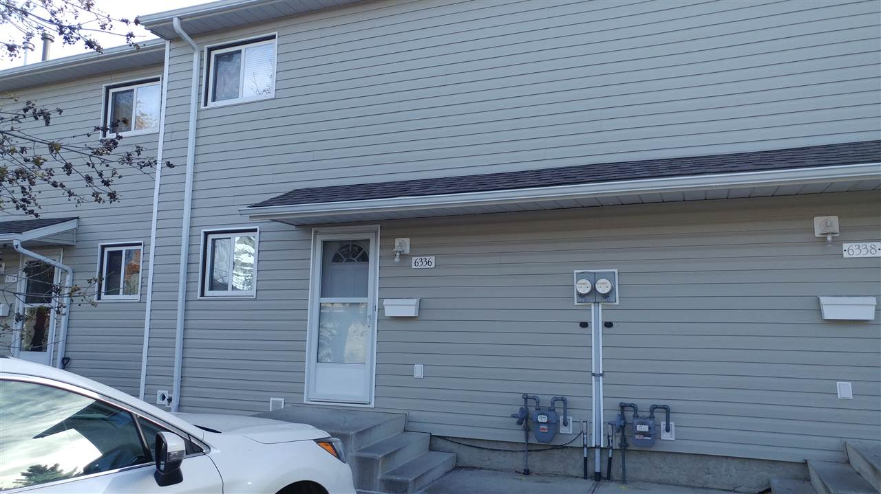 West Edmonton 4 bedroom fully finished basement at a very affordable price. Many upgrades include laminate flooring vinyl windows, doors, siding, basement development, kitchen upgrades and more. Near Whitemud, Anthony Handey, Callingwood mall, newer roof, quiet family area, low, low condo fee of 239 per month well run complex, parking stall in front of home 4th bedroom in basement with large recreation room and a nice backyard perfect for family BBQ's. Close to West Edmonton Mall recreation and major bus routes. Perfect starter home for a young family. Priced perfect.