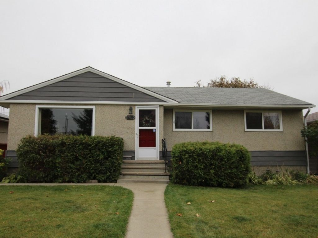 Well maintained three bedroom bungalow in Mayfield. Recent upgrades include new paint, hot water tank, electrical panel, carpet, laminate flooring and fence. The backyard is fully fenced and landscaped with a garden. An over-sized single garage and storage shed. Great location for downtown, Anthony Henday, Yellowhead Trail and close to public transportation, elementary schools and shopping. Quiet neighborhood with mature trees.