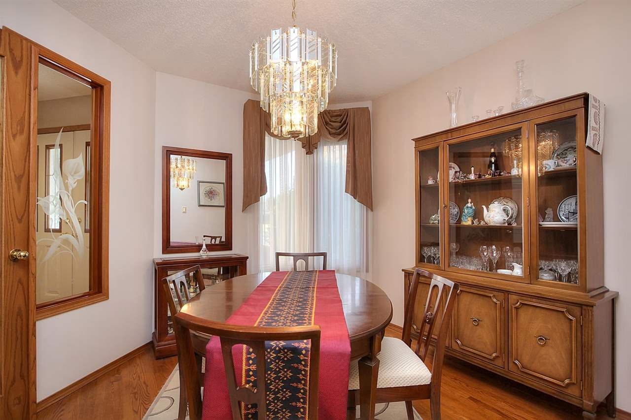 A separate formal dining room will handle the special family dinners and occasions when you hold dinner parties.