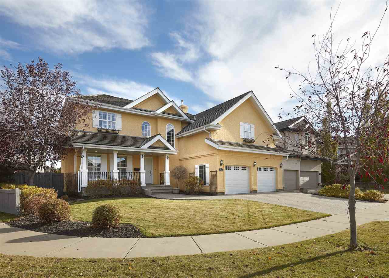 Welcome to The Properties of Donsdale! This stunning 2 storey - 2530sqft home has a fully finished basement totaling over 3547sqft of living space ? 6 beds, 3.5 baths, oversized (25.5x23.9) heated double attached garage all located on a huge 8645sqft landscaped lot! Entering the home you will love the 2 storey foyer filled with natural light! The formal living room has a gas fireplace to warm up to. Open to the living room is the spacious kitchen with upgraded cabinets, large island & dining area. Next to the kitchen is the formal dining room! A powder room & boot room complete the main floor. Upstairs the large master suite with vaulted ceilings has a walk-in closet & 5 piece ensuite!  Beds #2, #3 & #4 are all great sizes! 5 piece bath & laundry room complete the 2nd level.  In the basement you will love the family room, workout area, beds #5 & #6, 3 piece bath & storage! Outside enjoy the park-like feeling of the backyard, stone patio, storage shed & mature trees. Your family will love living here!