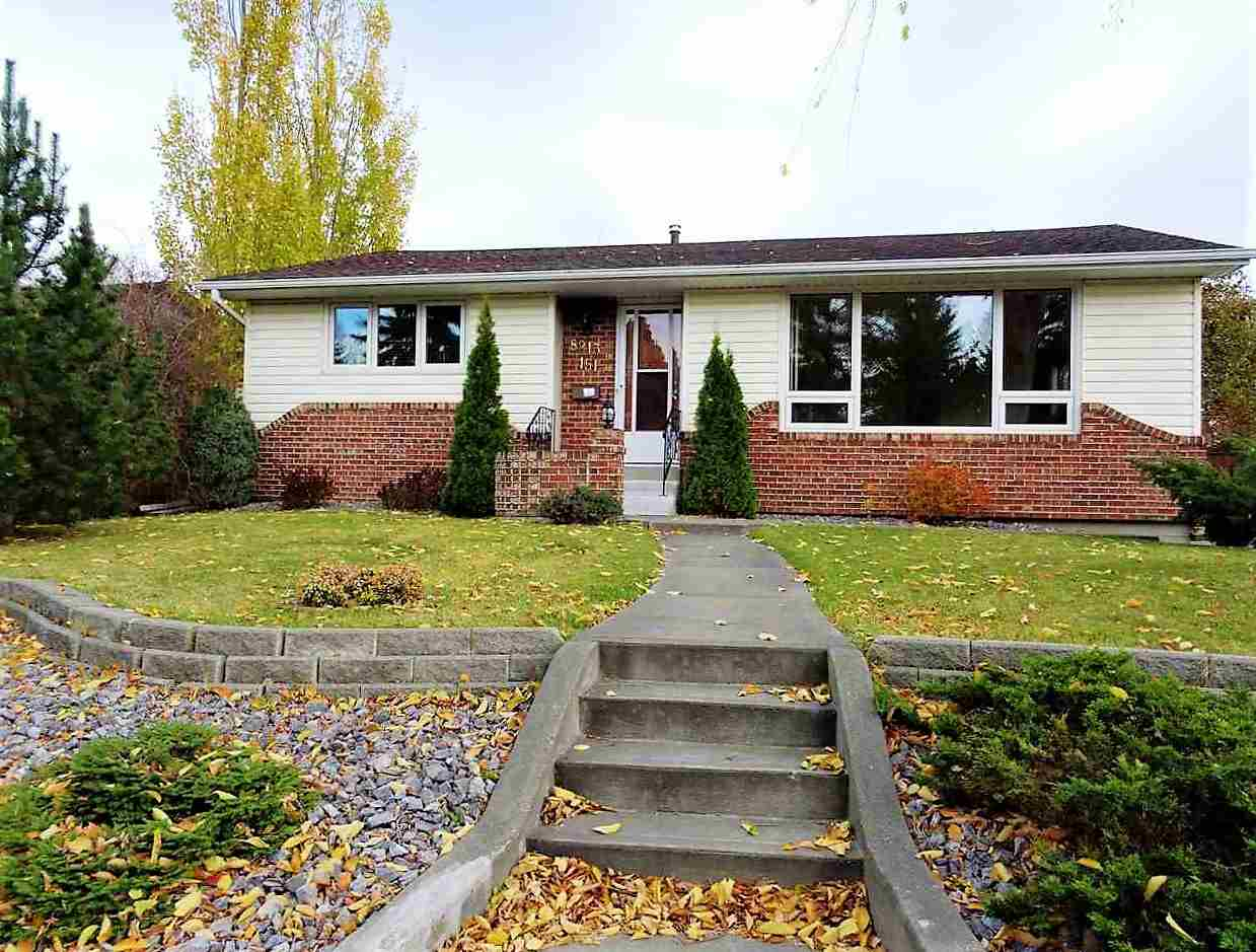 A Fabulous Neighbourhood, with Excellent Curb Appeal & Large yard makes this well cared for almost 1,200 sqft. Bungalow A Great find! Located on a quiet Tree Lined street, this 3 bedroom Bungalow has Original Hardwood Floors in the living, Dining, Hall and Master Bedroom. Upgrades include New Furnace (2013), Hot water tank (2016), 100 AMP Service, Garage door, Built-in Vacuum System, New Windows in the Living room & Master bedroom, PLUS A NEW SEWER LINE! Fully Fenced & Tastefully Landscaped with a Brick Patio & Fire Pit makes this Back Yard great for entertaining. A Side Entrance to the home makes this the perfect  home for a growing family with teenagers, Basement includes: Family Room, Office, Bedroom, Tons of Storage & 3Pc bath. (frontage 50' rear 68' sides 105' pie shaped lot).