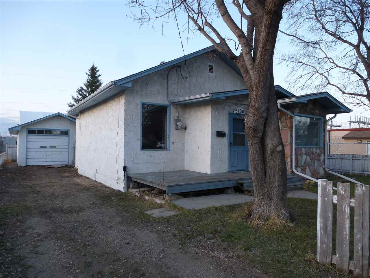 Great Little Home situated on an R4 Lot, Bungalow plan with 2 Bedrooms and a 4pc Bathroom.  Oversized Single Garage.  Good Sized Lot measuring 50'x 110'.