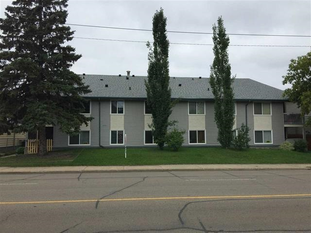 Why RENT when you can OWN it ? Well kept 2nd Floor unit with 1 bathroom+1 bedroom+large living and dining Area and large Balcony .Close to Yellowhead Trail, Capilano, Northlands Coliseum and other amenities.