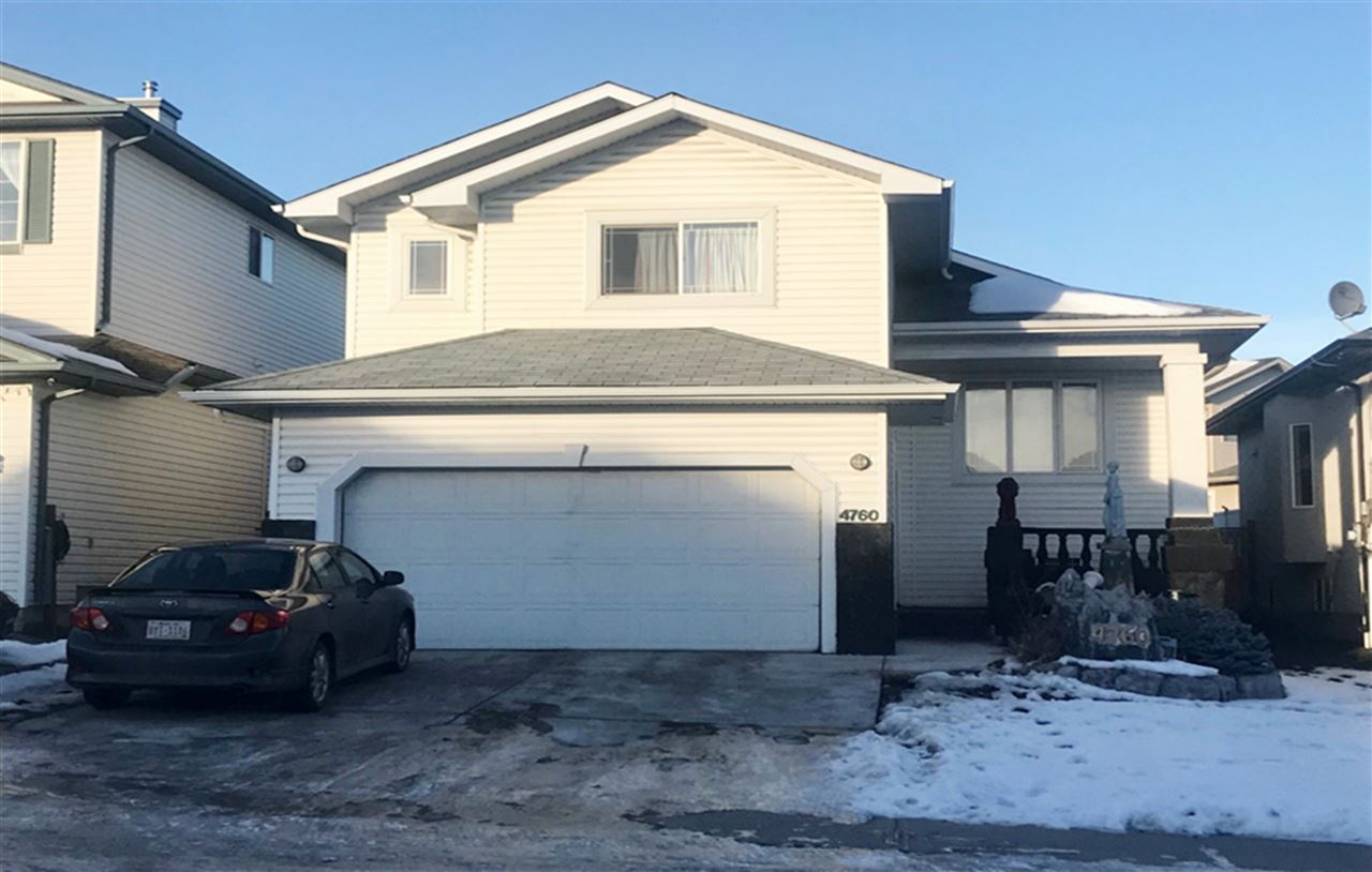 This 2006 built apprx 1400 sq ft bi-level offers 3 large bedrooms, 2 full baths, kitchen, living room, dining area & double attached garage.  Living room has large & bright window, fireplace, tv niche, open concept kitchen with pantry, kitchen cabinet adjacent to dinning area boasts patio door to deck & back yard.  Master bedroom on the upper level has his & her walk-in closets & 4 piece ensuite.  BASEMENT WITH SEPARATE ENTRANCE.  Easy access to public transportation, school, shopping centre, Manning Drive, Anthony Henday &  all amenities.