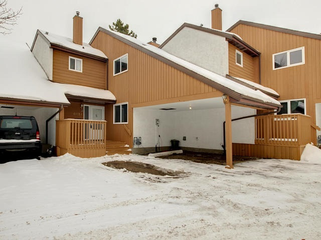 A Real Gem!! Fantastic townhouse backing onto walkway and open field. Mostly remodeled with new kitchen, newer flooring, new paint, newer bathrooms, furnace, hot water tank and central air-the list goes on and on!! There is a carport and a second parking stall as well. You won't be disappointed!