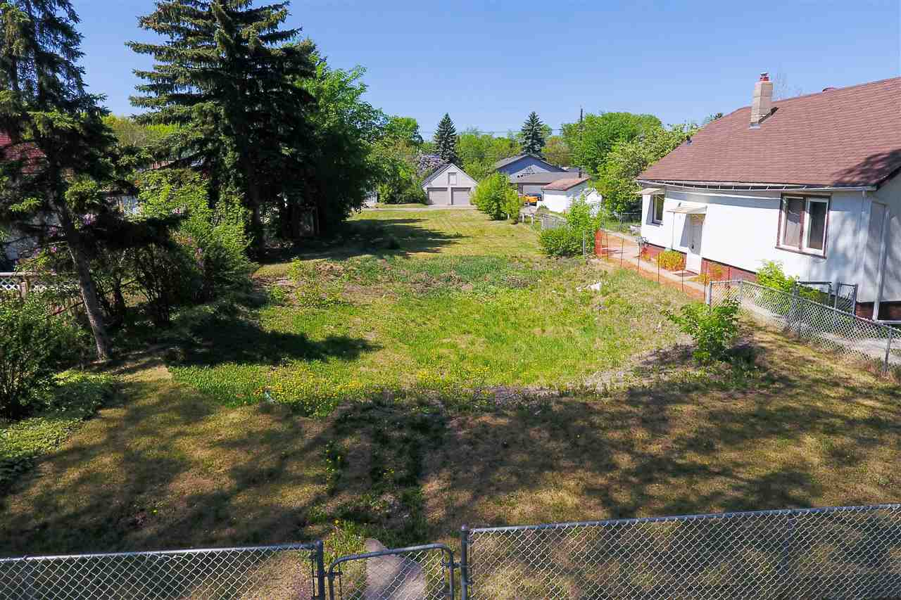 Rare opportunity to buy a coveted ready-to-build-on, over-sized, vacant lot in the burgeoning neighbourhood of Parkdale. 160ft 8in long and 49ft 6in wide, this huge lot measures up at over 751m2.  Whether building your dream house, an income property with secondary suite, or even a duplex, this land is already zoned RF3, so your options are a plenty. And if subdivision is your question, the answer is yes. Confirmation has been obtained from the City of Edmonton that this 49?6? wide lot is in fact eligible for subdivision. Don?t delay, buy today and be ready to put shovel in ground by spring!