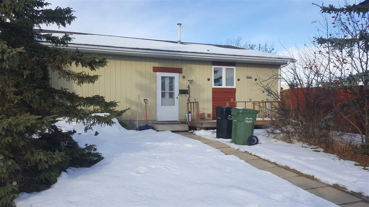 Cute, cozy, and the best part is you are only a couple steps from the Leduc Recreation Centre! This is a great family starter home, it has had some renovations,  spaced out well, on a large lot with plenty of yard space and parking, and in a perfect location, across from the Rec Centre. Kitchen opens with patio doors to large deck, spacious living room, a couple steps up and you have two generously sized bedrooms, and main bathroom. The lower levels offer a newer large bedroom & new 3pc bathroom, plus space for den or family room! Windows are energy efficient, come check out this very cute family home! This home can also be available with all contents, inside & out as well.