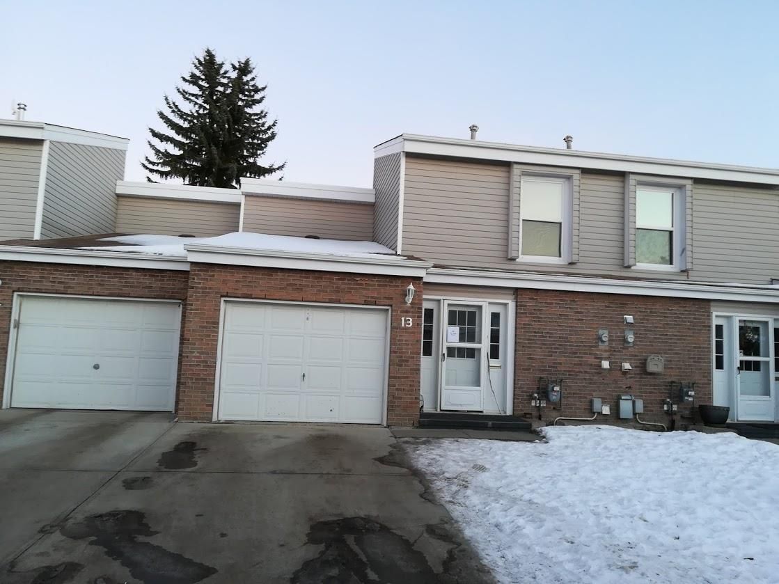 BEST VALUE in Grandin.. desirable complex Grandview ridge close to school, home needs updating and is reflected in pricing. A little elbow grease and imagination will go a long way. Single attached garage, 3 good size bedrooms, 1.5 bathrooms. Well maintain self managed complex with low condo fees. Recent upgrades 2014 hot water tank, 2010 furnace, main bath 2015.