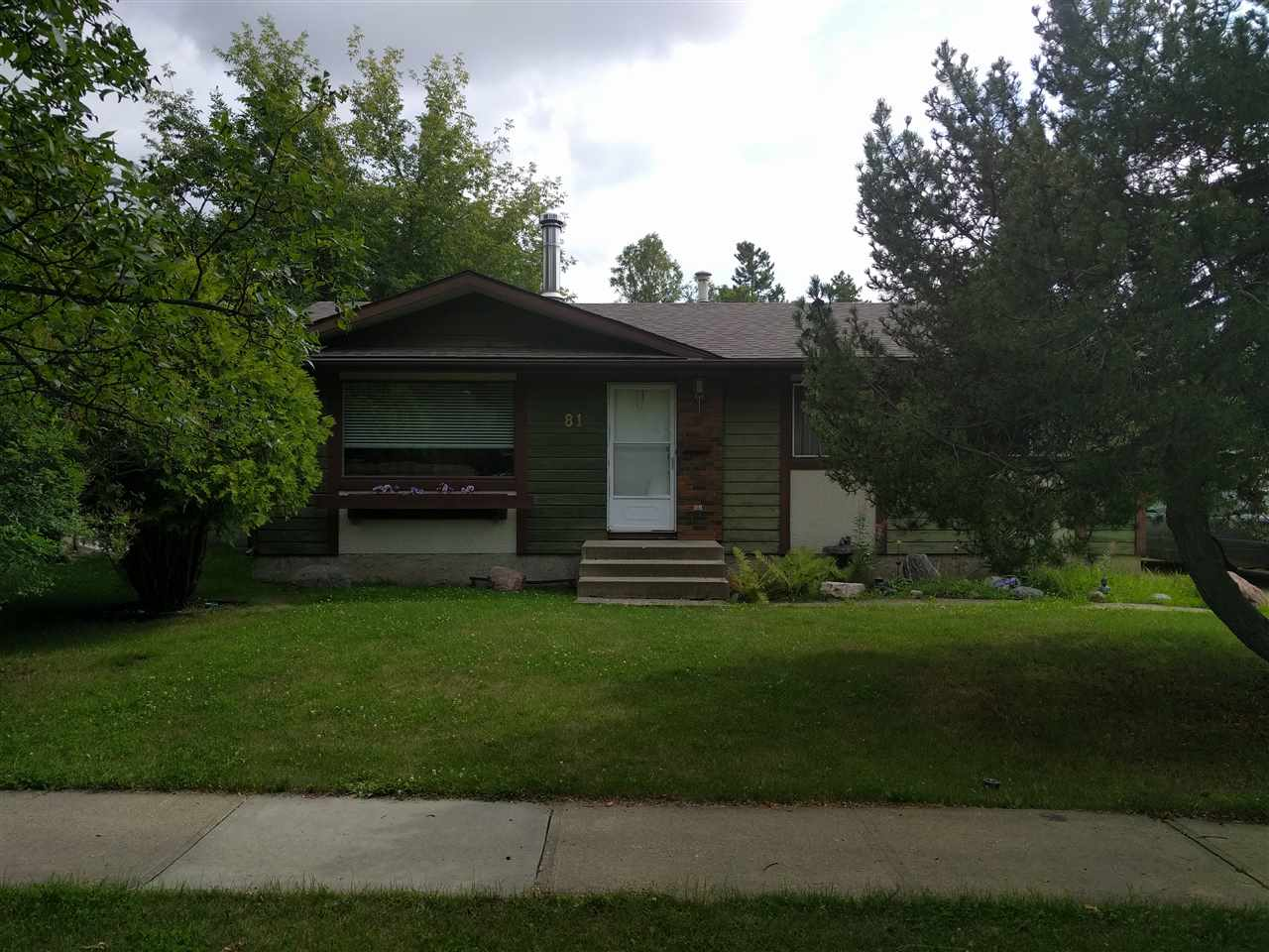 """A judicial sale of a 3 bedroom bungalow in Lacombe park.  Whether it is the mere 6 blocks to an elementary or junior high school, the 5km to the local high school, shopping facilities or downtown, there is little in the way of getting to places quickly for the day to day.  This house has been cared for, become a home and was a part of a long term plan.  In like manner this house will live up to expectations for the new owners to come.  While it is assumed that the home is structurally, mechanically and cosmetically sound, all sizes, layouts and condition are not warranted: As is - where is.  Schedule """"A"""" to the real estate purchase contract is to be submitted."""