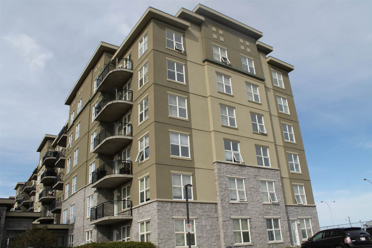 The 2 bedroom apartment style condo on the TOP FLOOR is located in the well sought after community of Clareview Town centre with in walking distance to the LRT. Features 2 spacious bedrooms with the master having a walk through closet into a 4 piece en-suite. There is an additional 3 piece guest bathroom, in suite laundry with a stackable washer and dryer. Finishing off this gorgeous condo is a coved kitchen with plenty of cupboard space, a dining area and large living room with a door leading to a SW facing balcony. Not to mention this is a CONCRETE BUILDING. What a great place to call home and is a real pleasure to show.