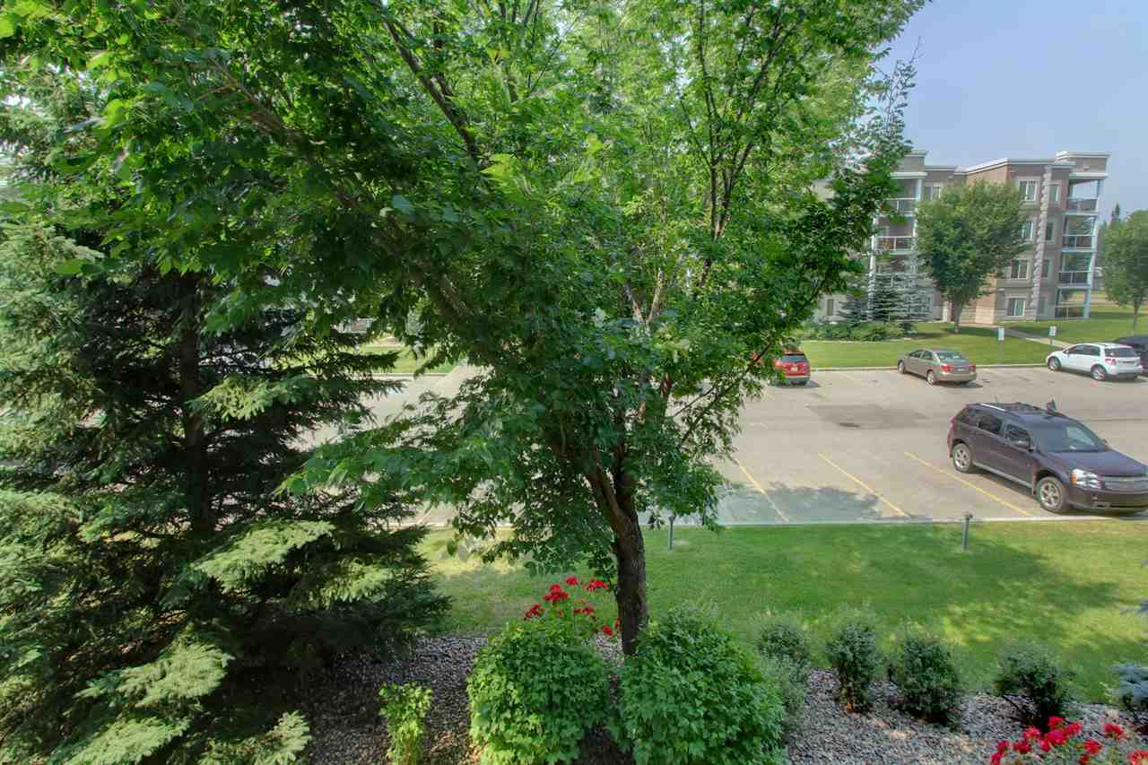 You will love the view from the balcony into the well kept landscaped area surrounding the exterior parking area.
