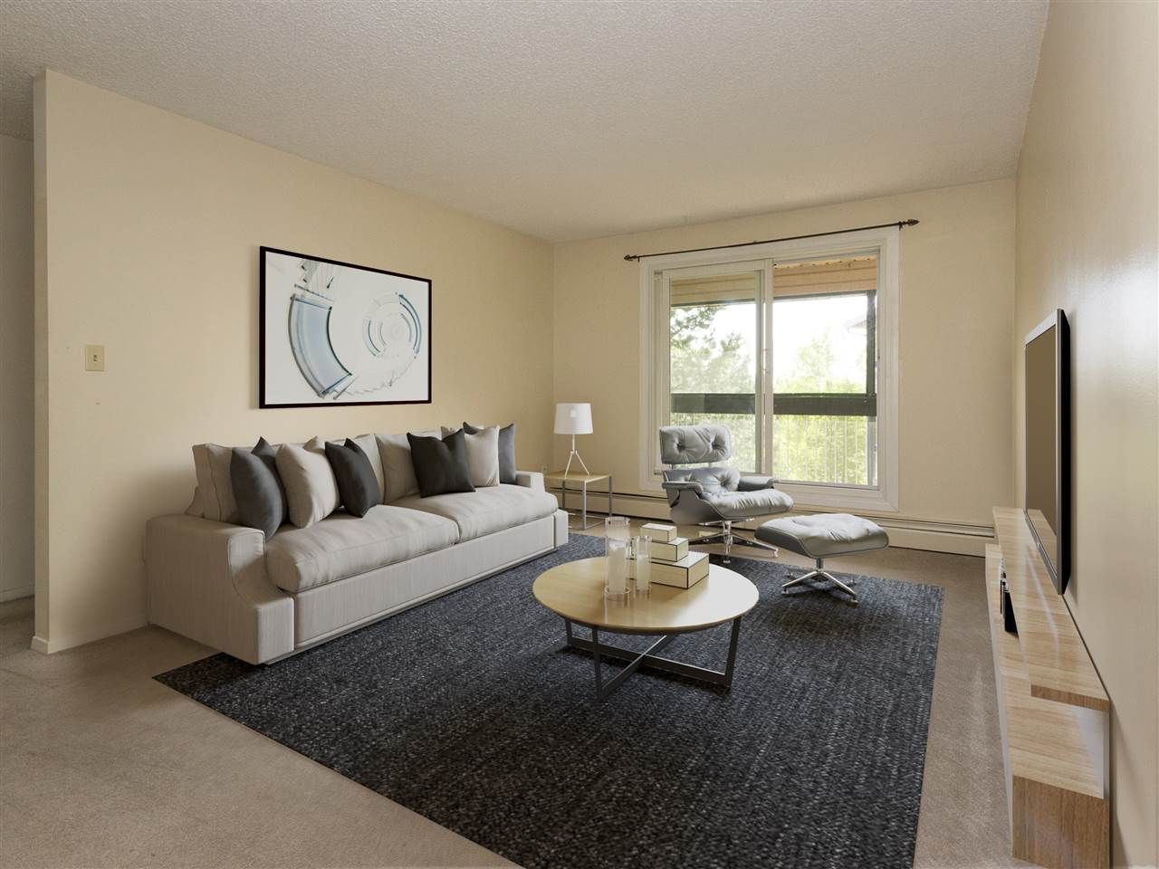 Don't miss this fantastic opportunity to enter the Real Estate Market at a very affordable price. This one bedroom condo is a top floor unit in a well run, established condo complex. It has a very spacious living room and the west facing balcony has plenty of room for relaxation. It's close to amenities such as shopping, schools and transit. Proximity to the Anthony Henday makes it easy to access all parts of the city. The low price and condo fees make this condo an excellent purchase for first time buyers and savvy investors.