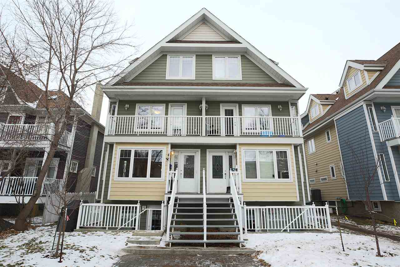 Nestled perfectly on a quiet, one-way street in the heart of the city, this 3-storey town home offers open-concept living, pride of ownership (!) & a separate entrance to the fully-finished basement (zoned for commercial). Built in 2002, this lovely property is located in Oliver and offers spacious main floor living/dining/kitchen area with an electric fireplace and a 2 pc bath. The bright living room features large south & west windows. The functional kitchen has a raised bar (w/ room for stools!) and a gas stove. The second level is home to the 2nd bedroom, full bath, laundry & bright den / flex space. Enjoy the private master suite's vaulted ceilings, large ensuite (+ jet tub!) & walk-in closet located on the third / upper level. The walkout basement has a large living space, a full bath (w/ shower), storage & a sep entrance. Single attached garage. NEW paint throughout, NEW central A/C, NEW (high eff.) furnace & NEW water tank all installed in 2016. The building has 3 common visitor parking stalls.